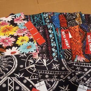 8 Mini Skirt Lot Most Size S/M